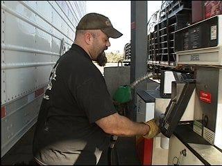 Diesel prices hurting professional drivers