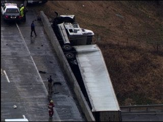 Interstate 35 south of Purcell reopens