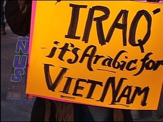 Peace protests mark five years of Iraq war