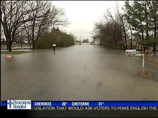 Roads closed following Tuesday's flooding