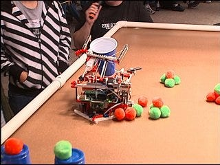"""Students battle for the best """"Bot"""""""