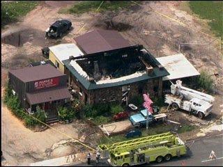 Fire guts Route 66 landmark cafe in Stroud