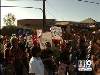 Early voting a big success in Oklahoma