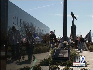 Cleveland County memorial unveiled