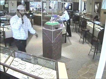 Police Search for Alleged Jewelry Thief