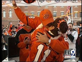 Diehard Fans Become Newlyweds at Bedlam