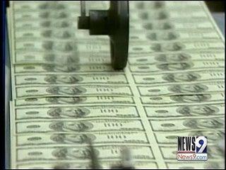 Oklahoma may soon feel economic slope