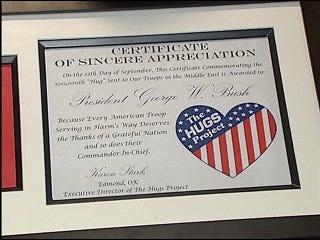 Bush to honor Oklahoman with award Friday