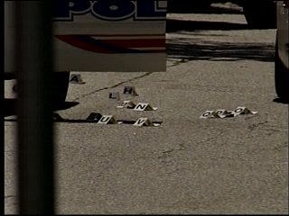 Man killed in police shootout, officers say