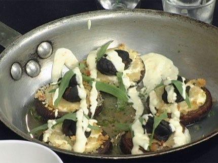 Chevrie & Escargot Stuffed Mushrooms