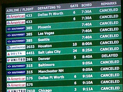 Will Rogers Airport Cancels Early Saturday Morning Flights