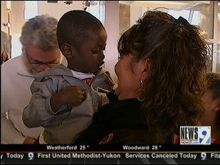 Haitian Orphan Finally United with Norman Family