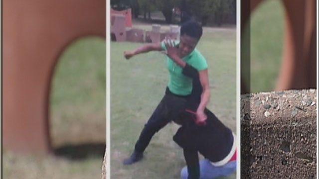 Oklahoma Girl Fight Caught On Camera