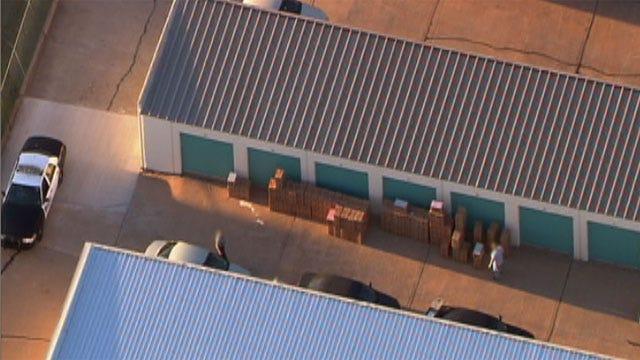 SkyNews9 HD Catches Federal Raid At OKC Storage Facility