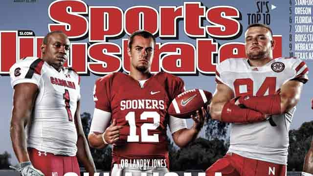 Landry Jones Makes Cover Of Sports Illustrated