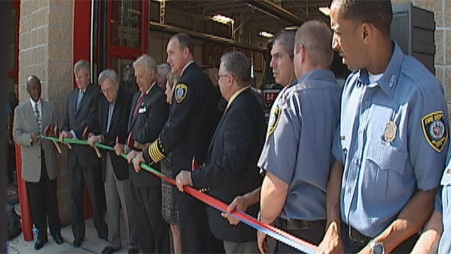 Fire Station Reopens In Capitol Hill