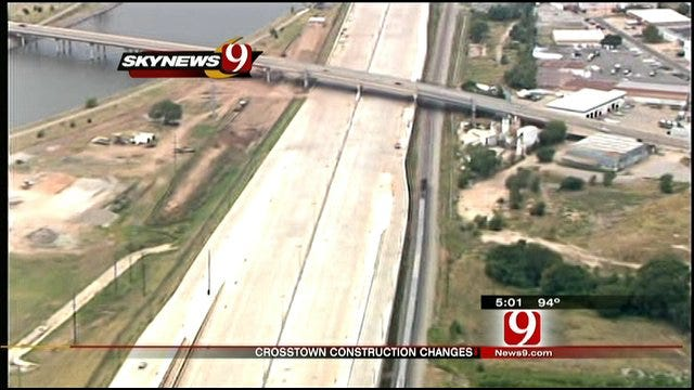 I-40 Crosstown Construction To Be Completed Next Year