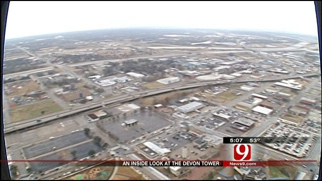 News 9 Takes First-Hand Look At Completed Areas Of Devon Tower