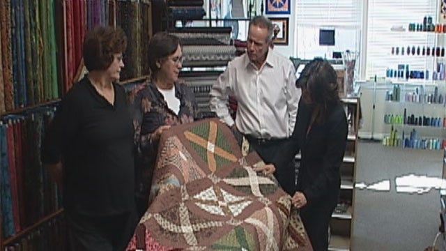Group Makes Special Quilts In Chickasha