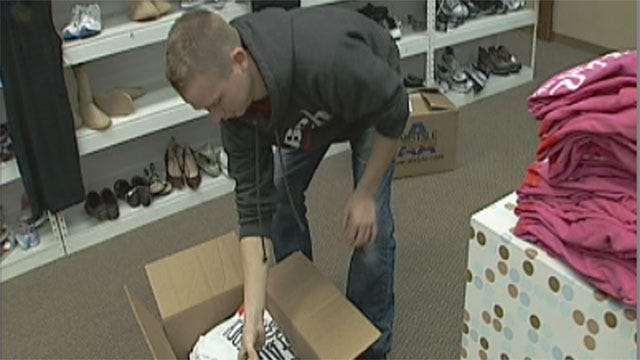 Oklahoma Man Donates Shirts To Children In Need