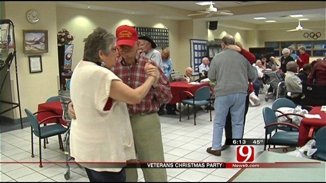 Veterans Share Stories,Spirit at Oklahoma Veterans Center