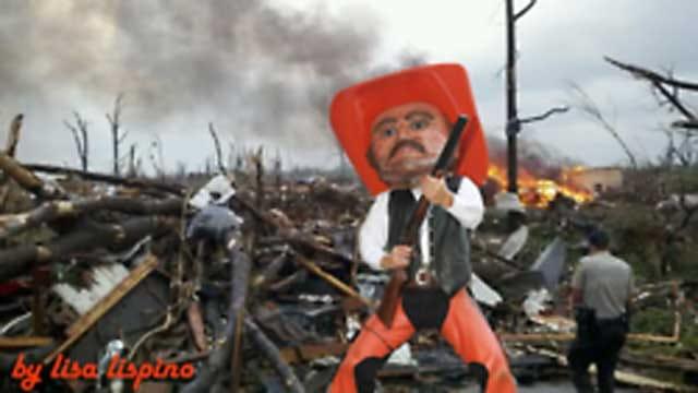 Graphic Artist Posts Controversial Photos Using Oklahoma Tragedies