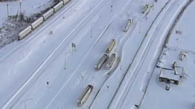 Some Oklahoma Roads Still Closed, Drivers Urged To Stay Home