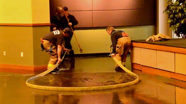 Burst Pipes Flood At Least 2 Oklahoma Worship Centers