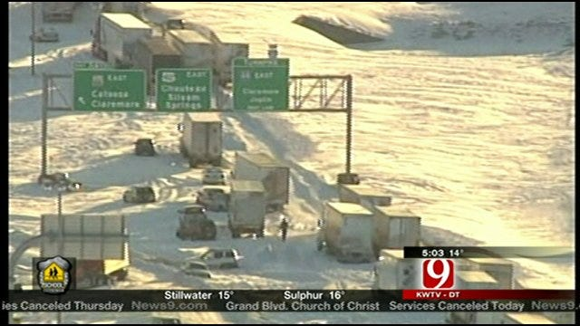 Roads Could Remain Messy For Days