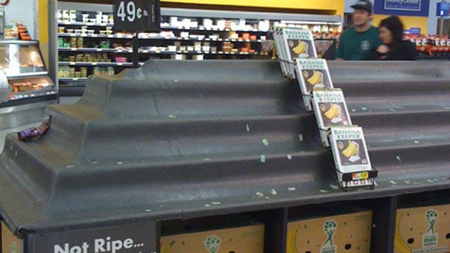 Stores Working To Restock After Blizzard Stalls Supplies