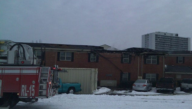 Flames Rip Through Northwest OKC Apartment Complex