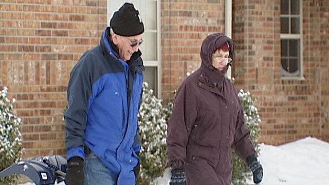 Norman Couple Shares Winter Weather Words Of Wisdom