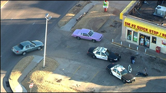 2 Arrested Following N.W. OKC Pursuit