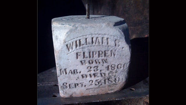 Choctaw Man Finds Tombstone, Searches For Mystery Man's Family
