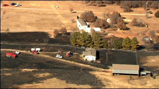 Man Towing Car Without Tires Blamed For Sparking Fires In McClain Co.