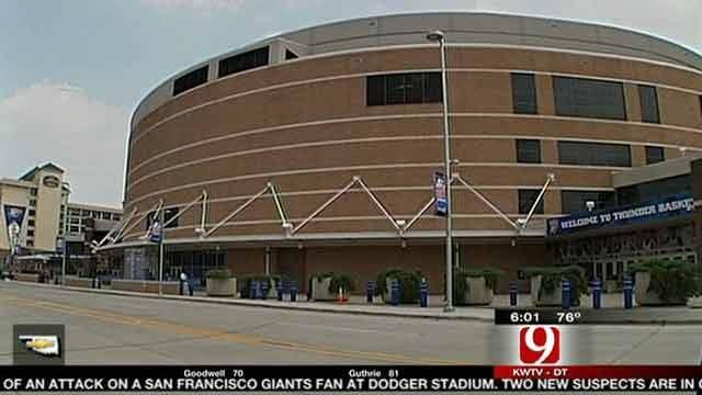 OKC Arena To Be Renamed Chesapeake Energy Arena