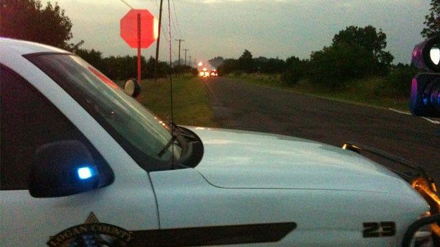 Grass Fire Threatens SE Guthrie Residents