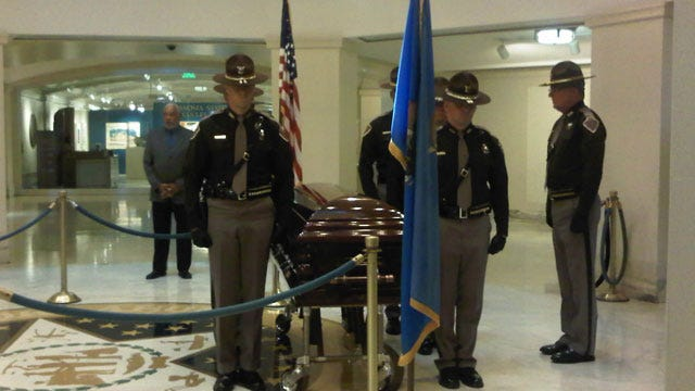 Mourners Honor Clara Luper At Oklahoma State Capitol