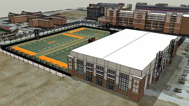 OSU Set To Begin Construction On Indoor Facility