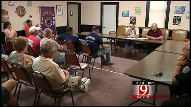 Meeting Leaves Cashion Firefighters, Residents In Limbo