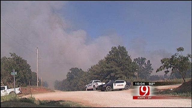 Wildfire Scorches Lincoln County