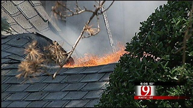 Intense Heat, Winds Hamper Firefighters In N.W. Oklahoma City