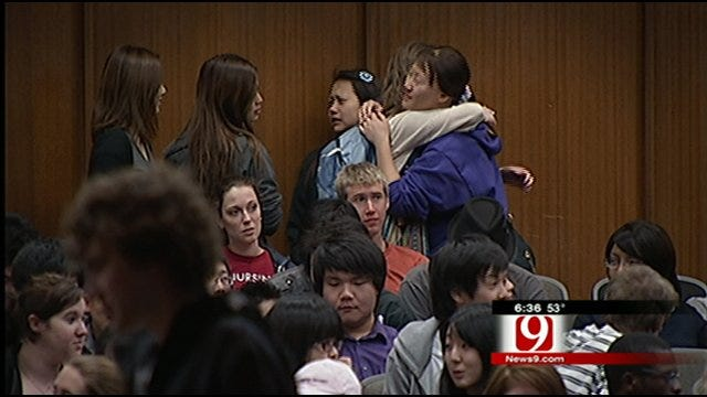 OCU Japanese Exchange Students' Return Home Delayed By Earthquake