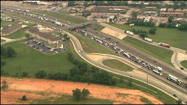 I-40 Open Again After Accident Involving Ammunition Truck