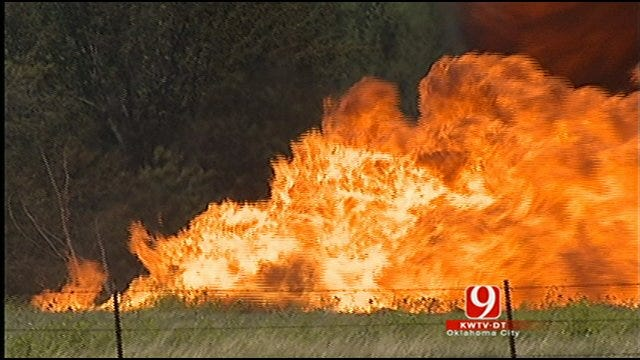 Gas Explosion Rocks Rural Canadian County
