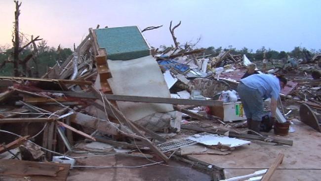 Toddler Missing In Piedmont After Tornado