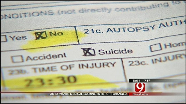 New Law Allows OKC Family To Appeal Ruling On Daughter's Death