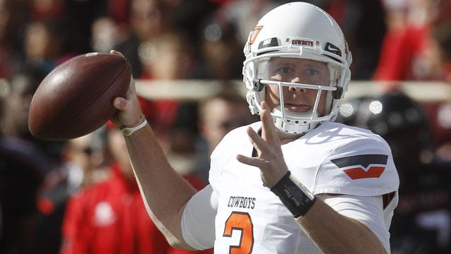 Weeden's Big Day Leads Cowboys To Blowout Win