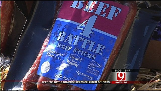 'Beef 4 Battle' Soon to Feed Oklahoma Troops