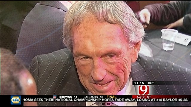 Eddie Sutton Inducted Into Hall Of Fame